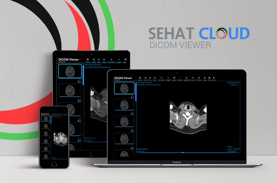 Web Based DICOM Viewer | SehatCloud